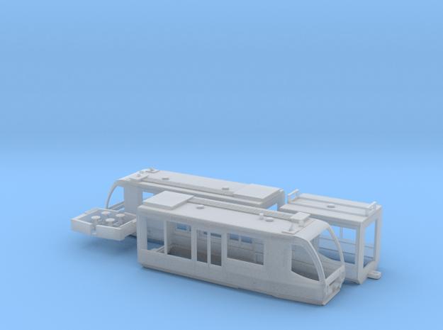Rurtalbahn Regiosprinter in Smooth Fine Detail Plastic: 1:120 - TT