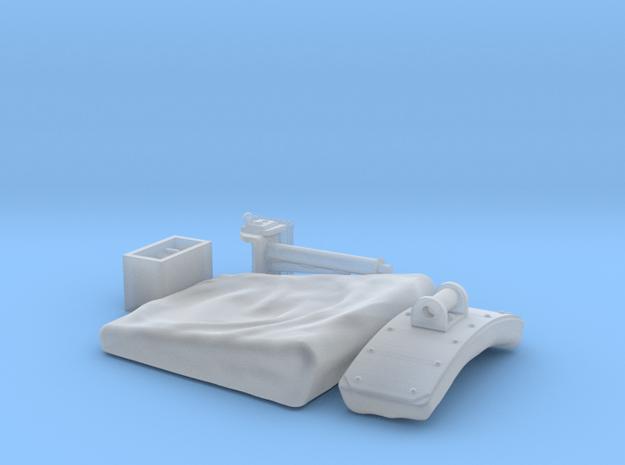 1:16 King/Jagdtiger Funker seat (stowed) in Smooth Fine Detail Plastic