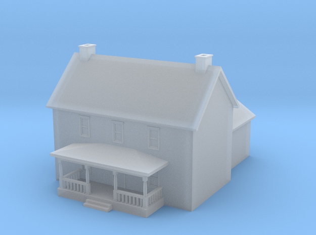 House 4 in Smoothest Fine Detail Plastic