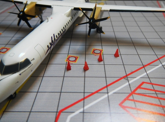 Airport GSE 1: 200 Goldhofer Pushback ATS 1 X 1360 3d printed