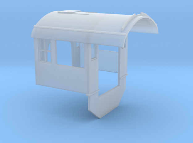 C&NW 2-8-0 Cab (Bachmann) Ver. 1 in Smooth Fine Detail Plastic