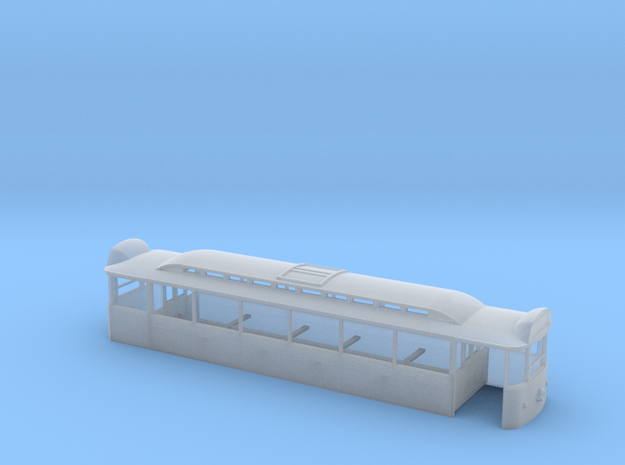 N scale Blackpool Pantograph Tram in Smooth Fine Detail Plastic
