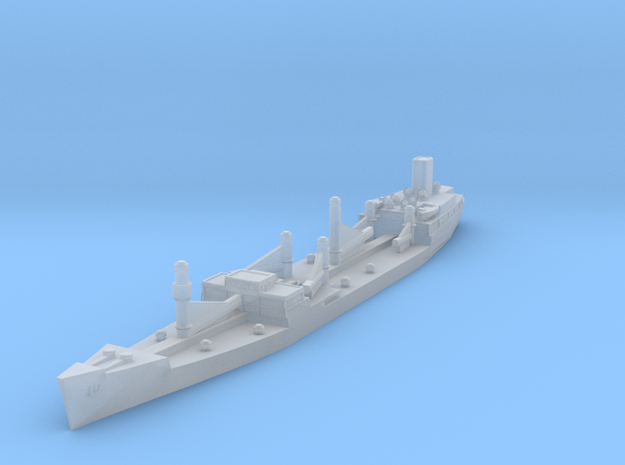 Generic WWII Oiler 1/2400 in Smooth Fine Detail Plastic