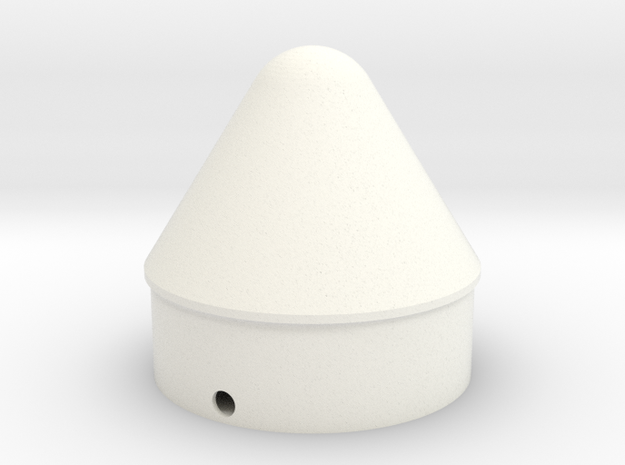 Outlander Cone for BT-60 in White Processed Versatile Plastic