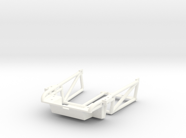 FA20002 Sand Rail Chassis Front in White Processed Versatile Plastic