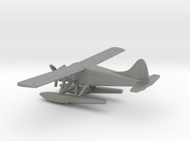 de Havilland Canada DHC-2 Seaplane in Gray PA12: 1:160 - N