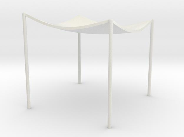 Lost in Space Equipment - Canopy Campsite in White Natural Versatile Plastic