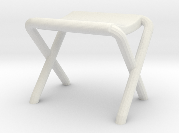 Lost in Space Equipment - Canopy Seat in White Natural Versatile Plastic