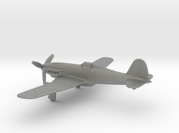 Fiat G.55 Centauro in Gray PA12: 1:144