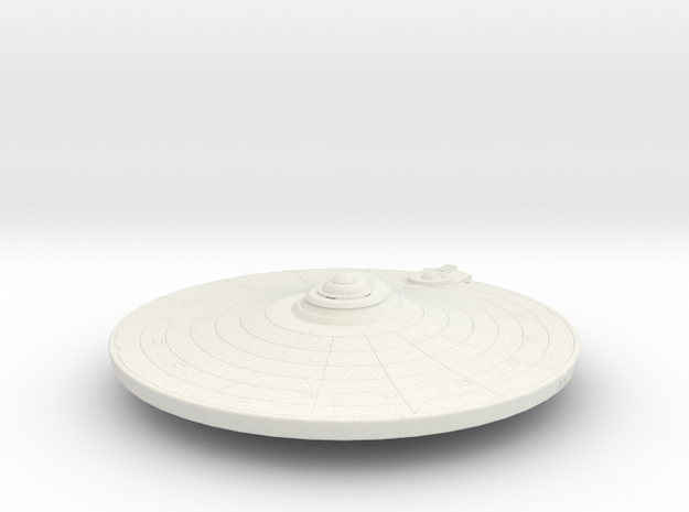2500 saucer section refit in White Natural Versatile Plastic