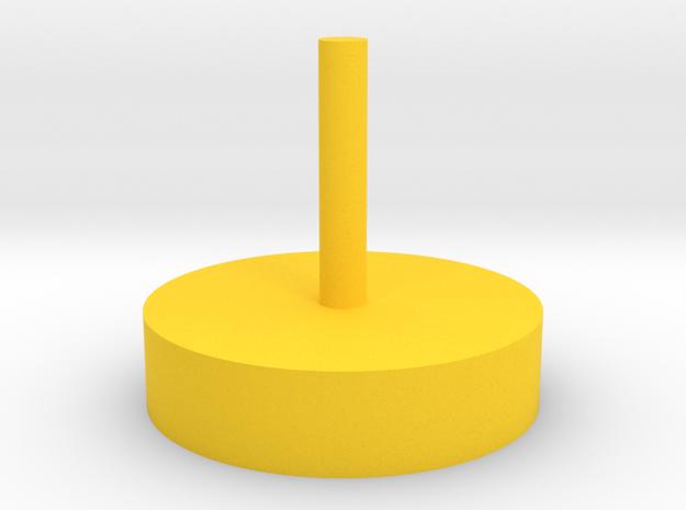 20200827 RobertDyck Panhead Habitat v2 in Yellow Processed Versatile Plastic