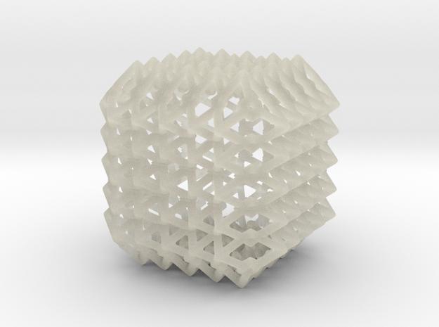 Fractal cage Nic K3 3d printed