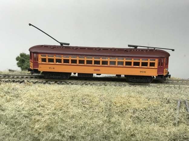 CNSM 700 - 711 series coach in Smoothest Fine Detail Plastic