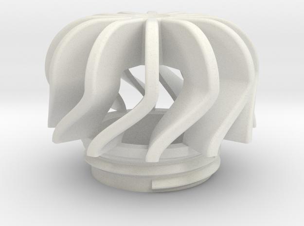 TeaC | Twist (12) *Sm in White Natural Versatile Plastic