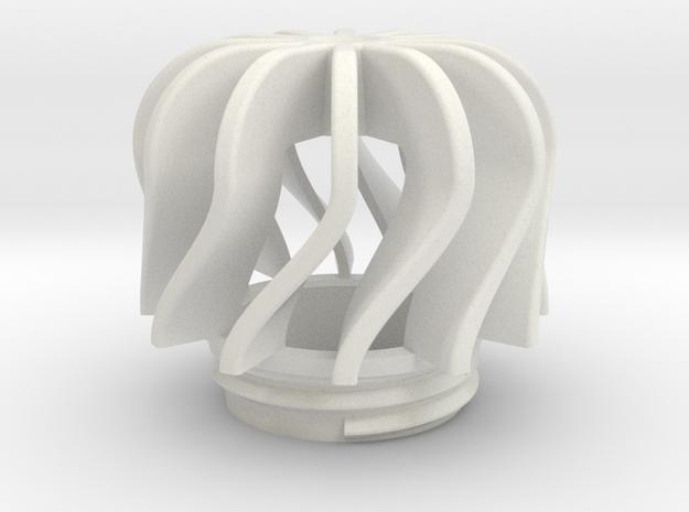 TeaC | Twist (12) *Md in White Natural Versatile Plastic
