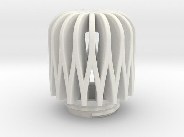 TeaC | Weave (18) *Lg in White Natural Versatile Plastic