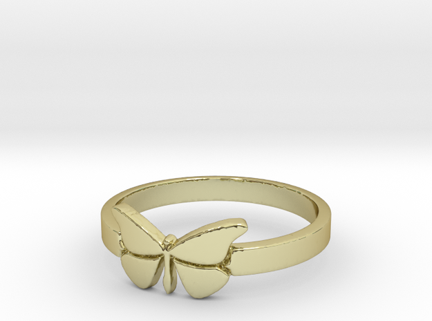 Butterfly (small) Ring Size 9 in 18k Gold