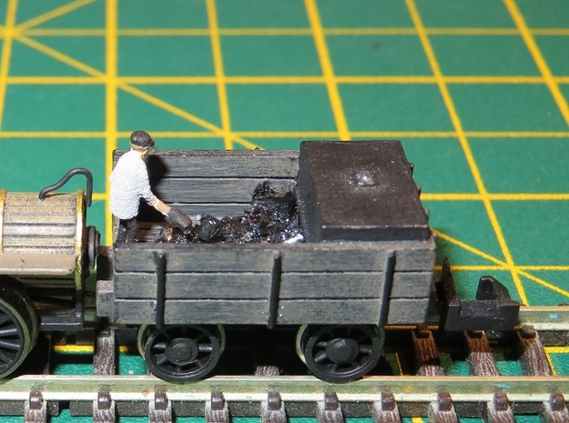 N Gauge Generic Era 1 Tender in Smooth Fine Detail Plastic