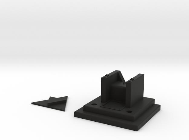 Starcom - Custom Shadow Throne in Black Natural Versatile Plastic