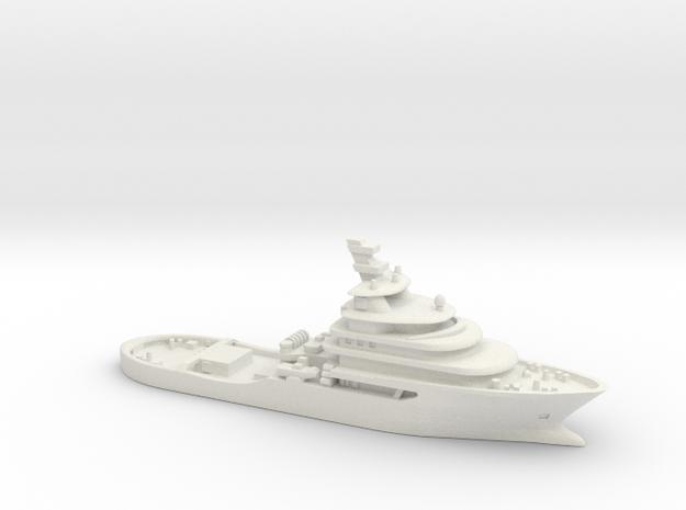 Abeille Bourbon 1:700 in White Natural Versatile Plastic