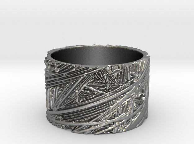 Fibres Ring Size 7 3d printed