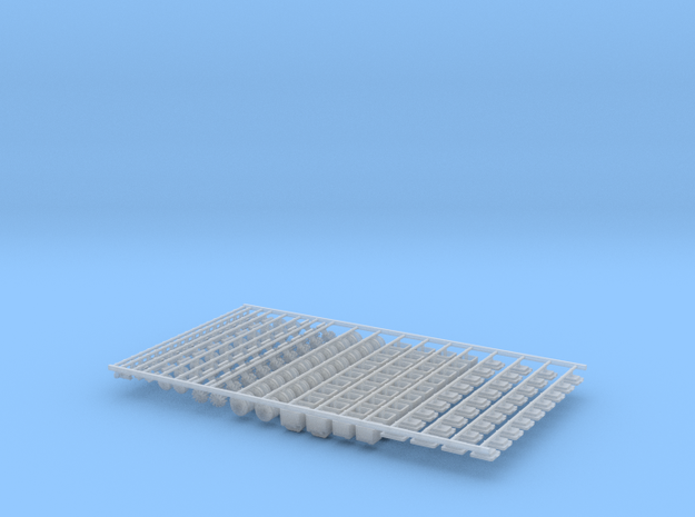 1.6bu Air DF Small Pieces (18) in Smooth Fine Detail Plastic