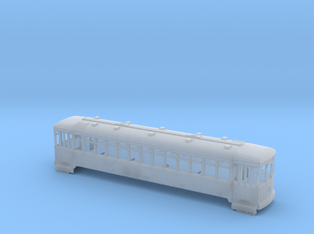 "(Test) Ho Scale MB3CL Streetcar ""Convexa""  in Smooth Fine Detail Plastic"