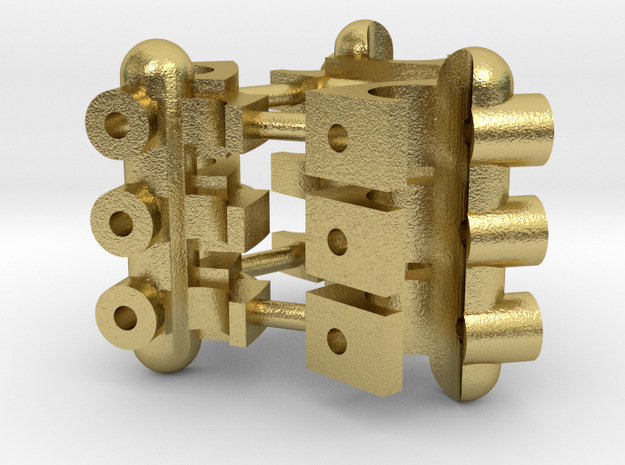 Part 01 SPG details in Natural Brass