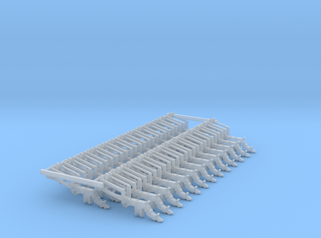 ME5 Long Arm JD HYD DF Large Pieces (26) in Smooth Fine Detail Plastic