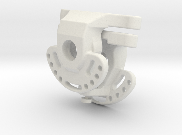 AR60 KNUCKLE-all-in-one-0offset-V3   - x2 in White Natural Versatile Plastic