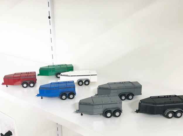 750 Fuel Trailer in Smooth Fine Detail Plastic