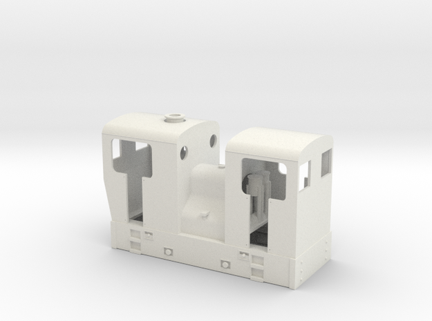 OO scale double ended Sentinel tram loco 3d printed