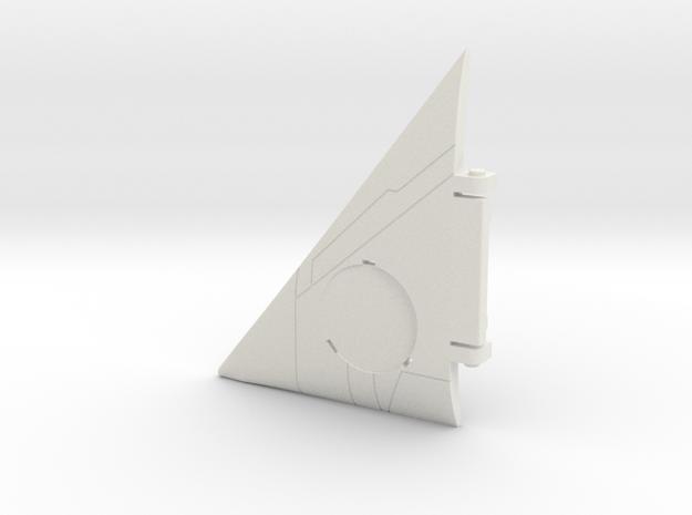 Starcom - Starmax - Wing L in White Natural Versatile Plastic