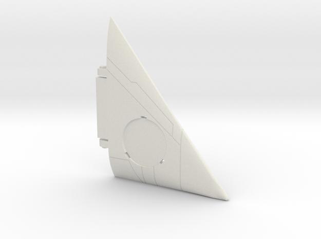 Starcom - Starmax - Wing R in White Natural Versatile Plastic