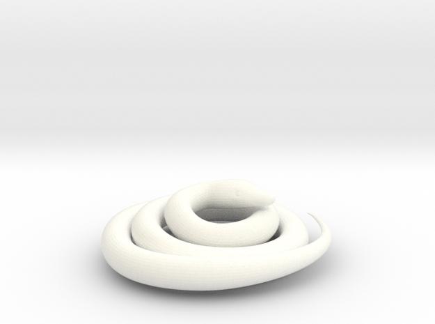 Python snake 3d printed