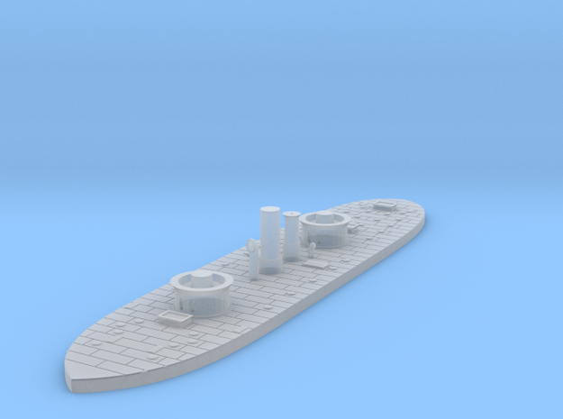 1/1200 USS Monadnock in Smooth Fine Detail Plastic