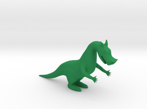 DRAGON in Green Processed Versatile Plastic