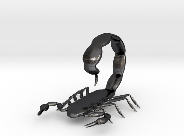 scorpion tail up 3d printed