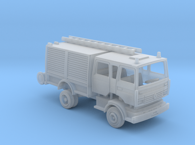 Renault Midliner firetruck - TT 1:120 in Smooth Fine Detail Plastic