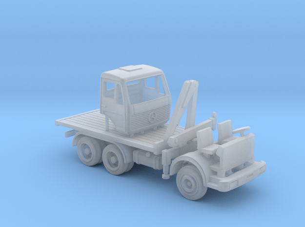 Mercedes NG 6x4 - TT 1:120 in Smooth Fine Detail Plastic