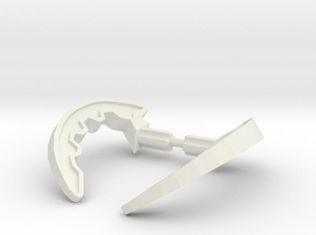 Kodan Claws kit in White Natural Versatile Plastic