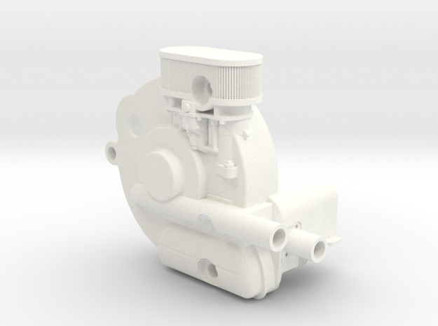 SR10001 Mk1 SRB Engine Part 1 of 6 in White Processed Versatile Plastic