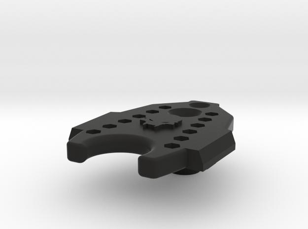 Deranged PTS Masada Base Plate in Black Natural Versatile Plastic