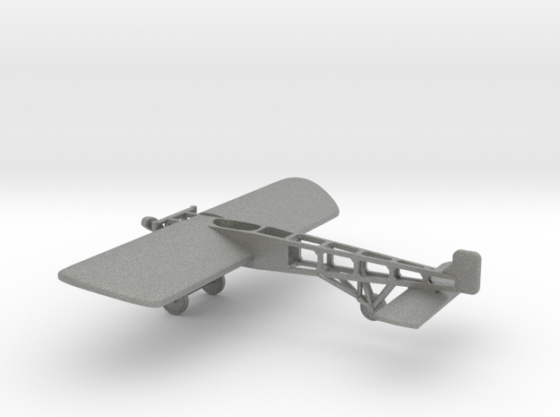 Bleriot XI in Gray PA12: 1:100