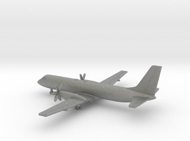 Ilyushin Il-114 in Gray PA12: 1:400