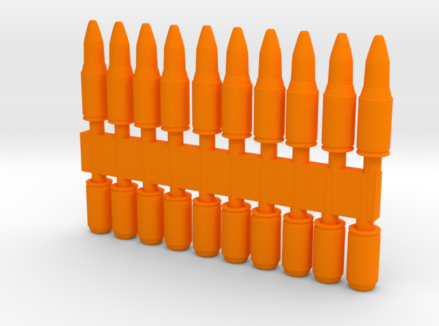 20 x Cartridges in Orange Processed Versatile Plastic