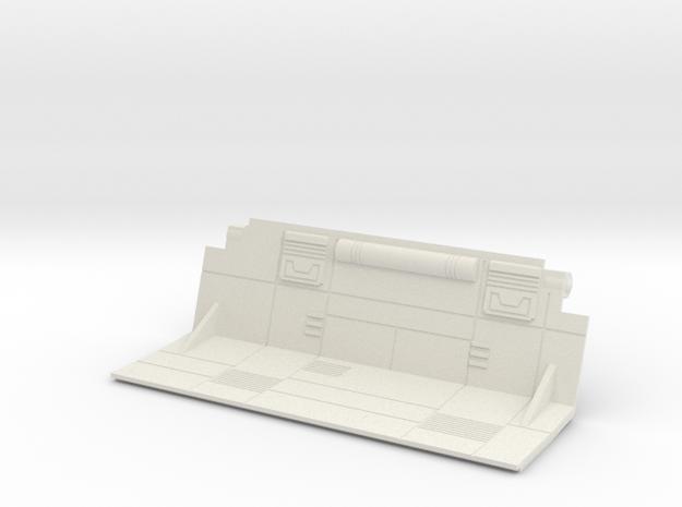 Starcom - Sixshooter - cargo bay door right in White Natural Versatile Plastic
