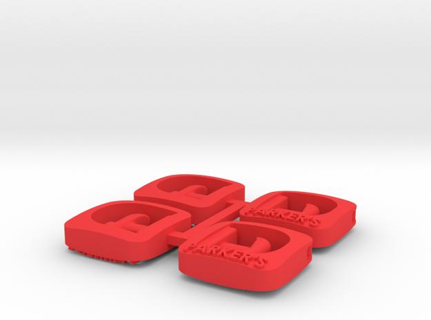 DIB_Assem1 in Red Processed Versatile Plastic