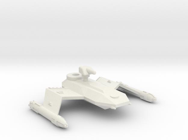3788 Scale Borak Destroyer Leader (DDL) CVN in White Natural Versatile Plastic