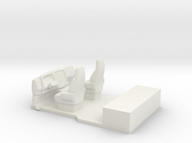 ProStar/LoneStar Interior in White Natural Versatile Plastic